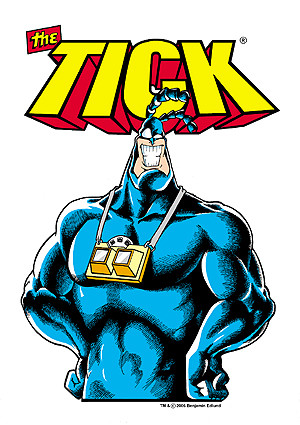 The Tick Cartoon Characters http://www.fanboysoftheuniverse.com/index ...