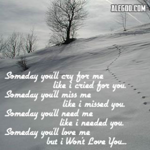 You'll Miss Me Quotes