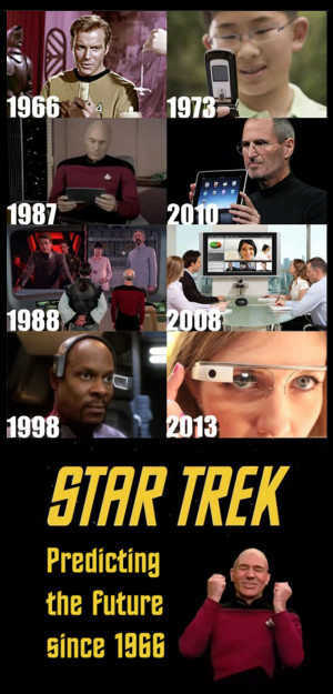star trek - predicting the future since 1966