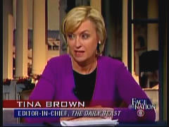 Left-Winger Tina Brown Heads Daily Beast/Newsweek Merger; A List of ...