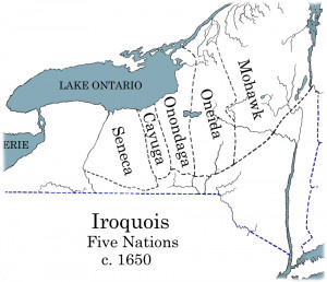 Description Iroquois 5 Nation Map c1650.png