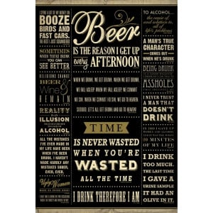 drinking quotes maxi poster great minds great quotes maxi poster