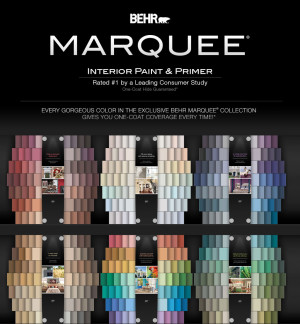 BEHR MARQUEE Paint Colors