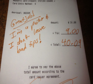 Ed Stetzer: 'I'm a Pastor and I Don't Leave Bad Tips'
