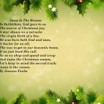 ... 2014 Comments Off on Famous Christian Christmas Poems For Church 2014