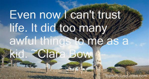 Clara Bow quotes: top famous quotes and sayings from Clara Bow