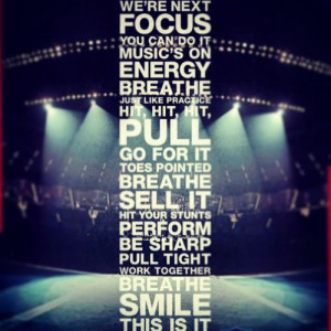 Cheer Quotes For Competition Cheerleading competition