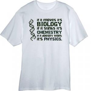 Funny Biology Shirts