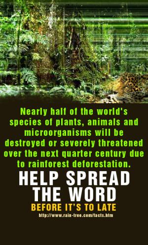save the rainforest 1200dpi10 a 18 logging2 rfabanner ...