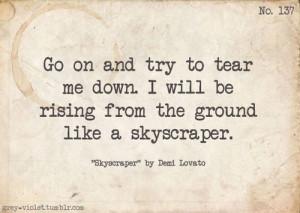 demi lovato lyric quotes tumblr