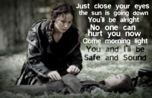The Hunger Games, Katniss and Rue