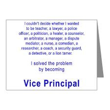 School Principal Thank You Cards & Note Cards