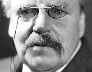 Gilbert K. Chesterton, English Writer