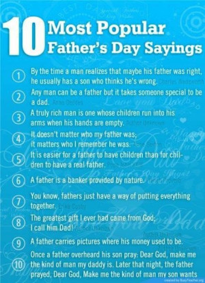 Fathers day quotes from son in law