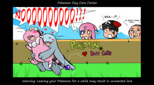The Pokemon Day Care by FazzEagle