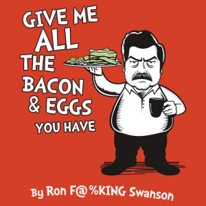 TShirtGifter presents: Ron Swanson VS Dr. Seuss