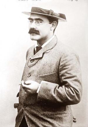 Joseph Rudyard Kipling - a British poet born in British India. He was ...
