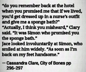 ... Simon, Mortal Instruments C, The Mortal Instruments Humor, Bones Funny