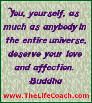 Buddha quote Acceptance