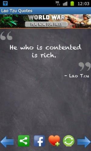 Tao Te Ching Lao Tzu Quote