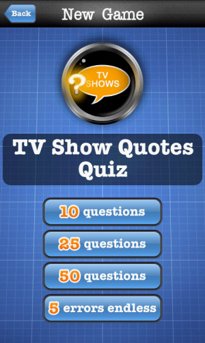 Download TV Show Quotes Quiz free for your Android phone