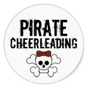 cute_pirate_pirate_cheerleading_sticker ...