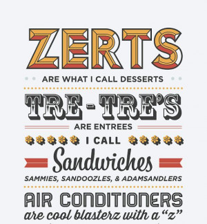 Typography Print, Quote Print, Parks and Recreation, Tom Haverford ...