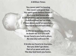 Miscarriage/Stillborn poem
