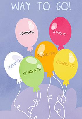 ... Congratulations Greeting Card - Congratulation on Your New Job