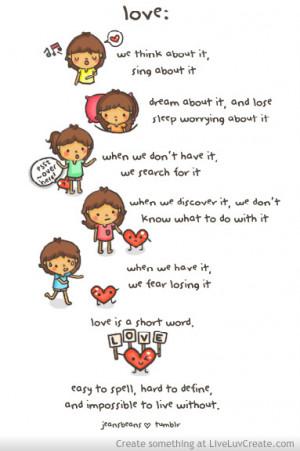 Love Quotes Quote Cute Favim