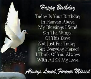 Happy Birthday Grandma Heaven