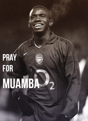 Picture of the Week Fabrice Muamba