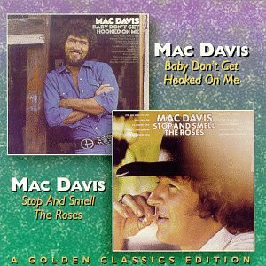 Mac Davis's It's Hard to Be Humble album cover