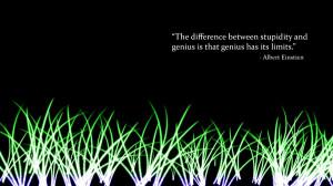 ... blue green quotes glow albert einstein description green blue text