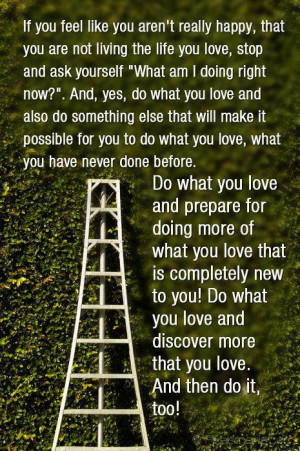 Love Quotes happy possible living