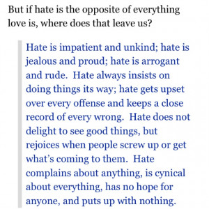quote from blog of Kevin DeYoung Feb 2012} Be loving - careful not to ...