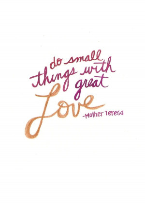love, mother teresa, quote