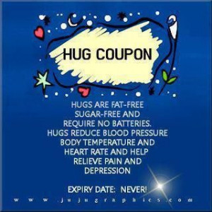 hug coupon: for those of you who desperately need a hug today