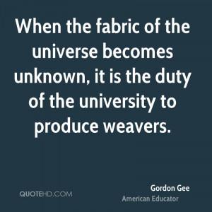 Gordon Gee Quotes