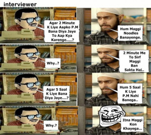 Check Out Funny Epic Fail Interview Answers Troll Maggi 2 mint ch ban ...