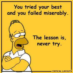 fav simpson quote