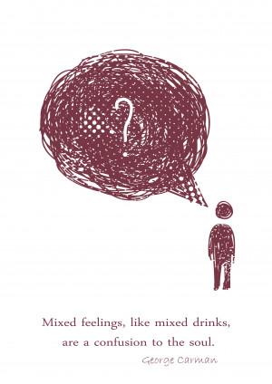 Mixed Feelings A3 Print
