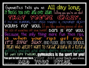 Stick It Gymnastics Quotes