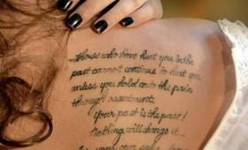 Posts Tagged: Unique Design Good Tattoo Quotes Ideas wallpaper