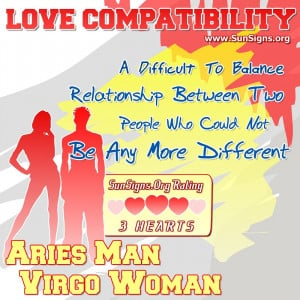 Aries man Virgo woman