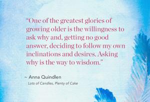 Anna Quindlen memoir quote