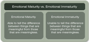maturity vs immaturity quotes