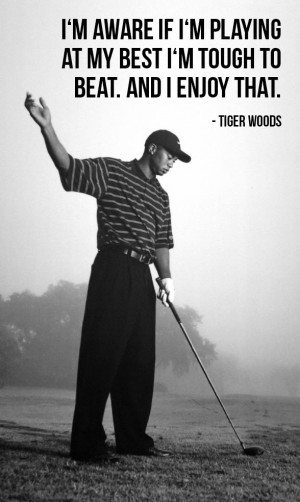 Tiger Woods - I enjoy that (credit: cliff1066™ via photopin cc)