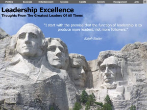 Greatest Leaders And Their Sayings screenshot