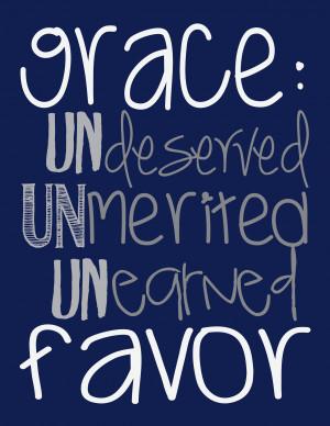 grace blog Quotes About Gods Grace